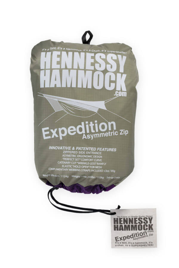 Expedition Asymmetric Zip stuff sack